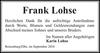 Frank Lohse
