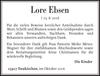 Lore Ebsen