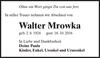 Walter Mrowka
