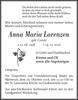 Anna Maria Lorenzen