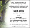 Karl Zach