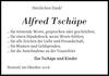 Alfred Tschäpe