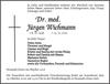 Dr. med. Jürgen Wichmann