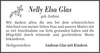 Nelly Elsa Glas