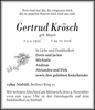 Gertrud Krösch