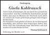 Gisela Kohlrausch