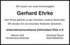 Gerhard Ehrke