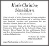 Marie Christine Sönnichsen