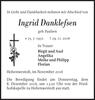 Ingrid Danklefsen
