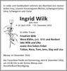 Ingrid Wilk