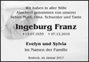 Ingeburg Franz