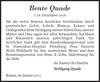 Bente Quade