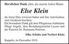Else Klein