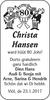 Christa Hansen