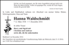 Hanna Waldschmidt