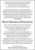 Hans-Heinrich Hinzmann