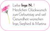 Inge N. Und Inge Siegfried Martina