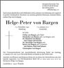 Helge-Peter Von Bargen