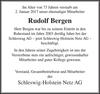 Rudolf Bergen