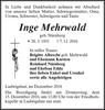 Inge Mehrwald