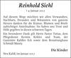 Reinhold Siehl