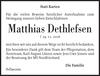 Matthias Dethlefsen