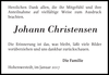 Johann Christensen