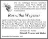 Roswitha Wegener