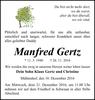 Manfred Gertz