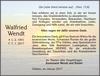 Walfried Wendt