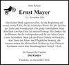 Ernst Mayer