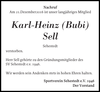 Karl-Heinz Bubi Sell