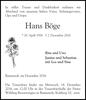 Hans Böge