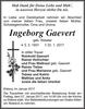 Ingeborg Gaevert