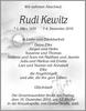 Rudi Kewitz