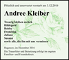 Andree Kleiber