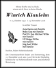 Winrich Kiaulehn