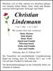 Christian Lindemann