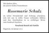 Rosemarie Schulz