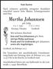 Martha Johannsen