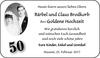 Bärbel und Claus Brodkorb Goldene