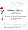 Helene Matzen