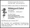 Hildegard Zabel