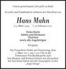 Hans Mahn