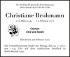 Christiane Brohmann