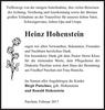 Heinz Hohenstein