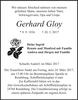 Gerhard Gloy