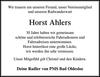 Horst Ahlers