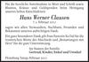 Hans Werner Clausen