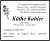 Käthe Kahler